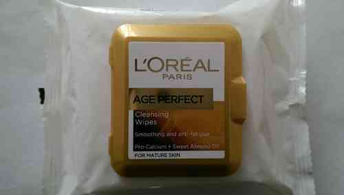 L'Oréal Age Perfect | Cleansing Wipes-25 wipes