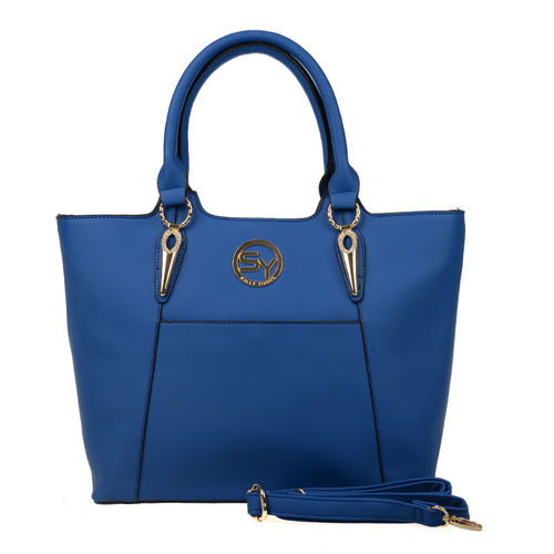 Sally Young Celebrity Tote Bag | Blue
