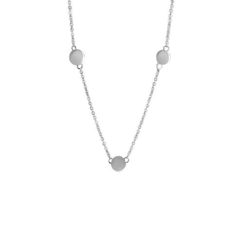 925 Sterling Silver Necklace - Three circles