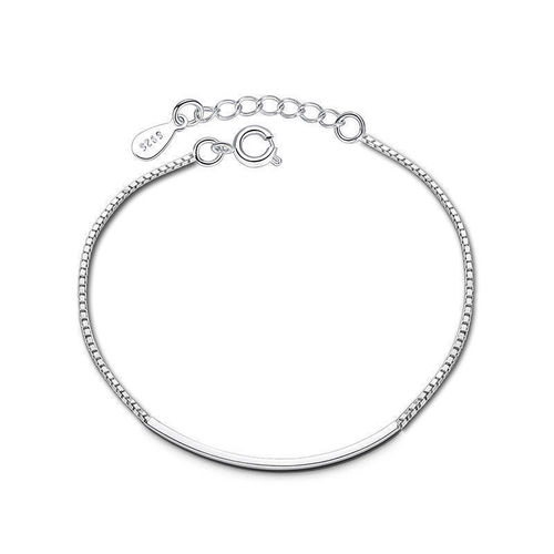 925 Sterling Silver | Simple Chain Bracelet